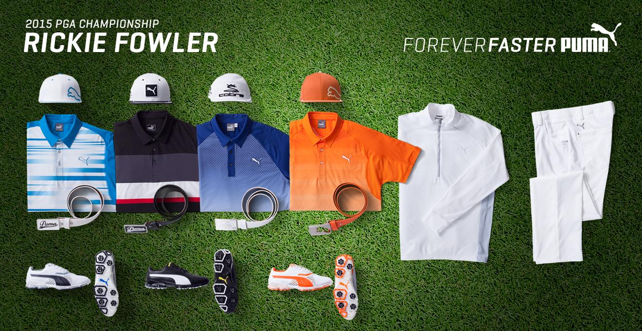 Rickie Fowler's 2015 PGA Championship Gear